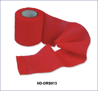 All cotton self-adhesive bandage